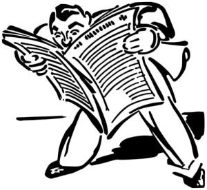 ManReadingNewspaper